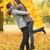 fiatal · boldog · férfi · nő · játszik · frizbi - stock fotó © dolgachov