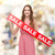 young woman in dress with sale sign stock photo © dolgachov