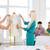 uśmiechnięty · moda · pracy · biuro · startup · edukacji - zdjęcia stock © dolgachov