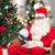 noel · baba · çevrimiçi · Noel · hediyeler · Internet - stok fotoğraf © dolgachov