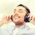 yetişkin · erkek · dinleme · favori · müzik - stok fotoğraf © dolgachov