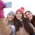 szczęśliwy · nastolatki · smartphone · ludzi · przyjaźni - zdjęcia stock © dolgachov