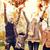glückliche · Familie · spielen · Herbstlaub · Park · Familie · Kindheit - stock foto © dolgachov