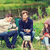 groep · glimlachend · vrienden · koken · voedsel · buitenshuis - stockfoto © dolgachov