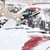 śniegu · pokryty · samochodu · posiedzenia · podjazd · zimą - zdjęcia stock © dolgachov