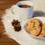 warme · chocolademelk · cookies · bont · vakantie - stockfoto © dolgachov