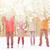 グループ · 小さな · ヒッピー · 男性 · 女性 - ストックフォト © dolgachov