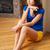 higgadt · komoly · nő · fényes · kép · modell - stock fotó © dolgachov