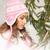 mujer · hermosa · invierno · sombrero · Foto · mujer · cara - foto stock © dolgachov