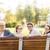 főiskola · diákok · park · barátok · oktatás · csoport - stock fotó © dolgachov