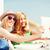 meisjes · foto · strand · zomer · vakantie - stockfoto © dolgachov