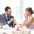 男 · 婚約指輪 · 女性 · レストラン · 人 · 提案 - ストックフォト © dolgachov