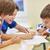 grup · yazı · çizim · okul · eğitim - stok fotoğraf © dolgachov