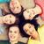 グループ · 笑みを浮かべて · 人 · 階 · 教育 - ストックフォト © dolgachov
