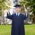 улыбаясь · взрослый · студент · диплом · образование · окончания - Сток-фото © dolgachov