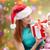 ayudante · bebé · Navidad · regalo · blanco - foto stock © dolgachov