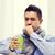 человека · грипп · питьевой · чай - Сток-фото © dolgachov