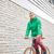 man · paardrijden · vast · versnelling · fiets - stockfoto © dolgachov