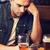 Mann · Smartphone · trinken · Bier · bar · Veröffentlichung - stock foto © dolgachov