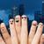 twee · handen · tonen · acht · vingers - stockfoto © dolgachov