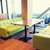 restaurante · interior · tabela · projeto · público · lugar - foto stock © dolgachov
