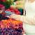 妊婦 · 買い · ブルーベリー · 通り · 市場 · 販売 - ストックフォト © dolgachov