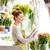 spanyol · nő · dolgozik · virágárus · virág · virágok - stock fotó © dolgachov