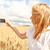 heureux · jeune · femme · blanche · extérieur · bonheur - photo stock © dolgachov