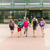 grupo · feliz · escuela · primaria · estudiantes · ejecutando · primario - foto stock © dolgachov