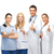 professional young team or group of doctors stock photo © dolgachov