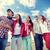 улыбаясь · подростков · Солнцезащитные · очки · подвесной · за · пределами · лет - Сток-фото © dolgachov