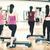 grup · gülen · insanlar · aerobik · uygunluk · spor - stok fotoğraf © dolgachov