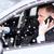 adam · konuşma · cep · telefonu · sürücü · araba · telefon - stok fotoğraf © dolgachov