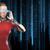 女性 · 未来的な · 眼鏡 · 人 · 技術 · 将来 - ストックフォト © dolgachov