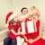驚き · 両親 · かわいい · 女の子 · ギフトボックス - ストックフォト © dolgachov