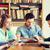 studentów · książek · egzamin · biblioteki · ludzi · wiedzy - zdjęcia stock © dolgachov