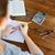 közelkép · kezek · számológép · notebook · üzlet · oktatás - stock fotó © dolgachov