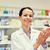 farmacista · assistente · farmacia · femminile · piedi · donna - foto d'archivio © dolgachov