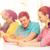 grupo · estudantes · palestra · educação · escola · secundária · universidade - foto stock © dolgachov
