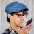 man recording voice or calling on smartphone stock photo © dolgachov