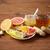 имбирь · чай · меда · цитрусовые · чеснока · древесины - Сток-фото © dolgachov