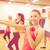 persone · gruppo · manubri · fitness · sport · formazione - foto d'archivio © dolgachov