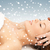 massage · sneeuwvlokken · christmas · foto · dame · ontspannen - stockfoto © dolgachov