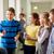 группа · школы · дети · соды · коридор · образование - Сток-фото © dolgachov