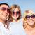 feliz · pai · criança · óculos · de · sol · blue · sky · verão - foto stock © dolgachov