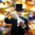 マジシャン · トリック · トランプ · 魔法 · パフォーマンス - ストックフォト © dolgachov