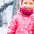 női · hentes · mutat · remek · felirat · közelkép - stock fotó © dolgachov