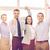 szczęśliwy · zespół · firmy · zwycięstwo · biuro · działalności - zdjęcia stock © dolgachov