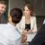 équipe · commerciale · réunion · bureau · gens · d'affaires · technologie · planification - photo stock © dolgachov