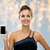 улыбающаяся · женщина · вечернее · платье · смартфон · технологий · связи · люди - Сток-фото © dolgachov
